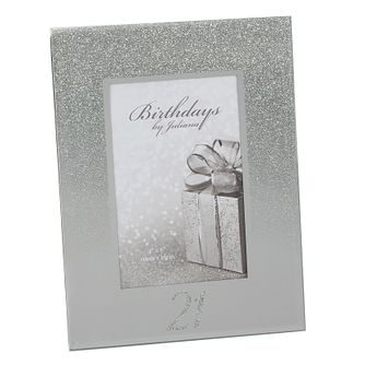 Birthdays by Juliana 21st Mirrored Photo Frame - Product number 8922268