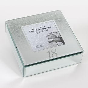 Birthdays by Juliana 18th Mirrored Trinket Box - Product number 8922276