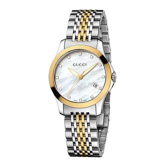 Gucci G-Timeless Two-Tone Bracelet Watch - Product number 8940010