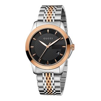 Gucci G-Timeless Two Tone Bracelet Watch - Product number 8941270