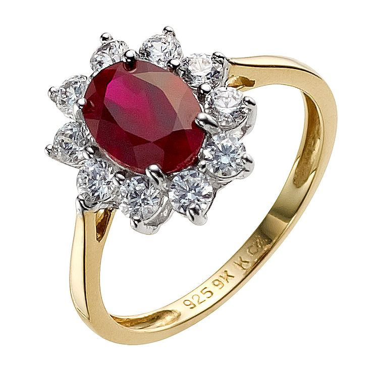 Silver Diamond Rings Argos