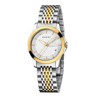 Gucci G-Timeless Two-Tone Bracelet Watch - Product number 8946566