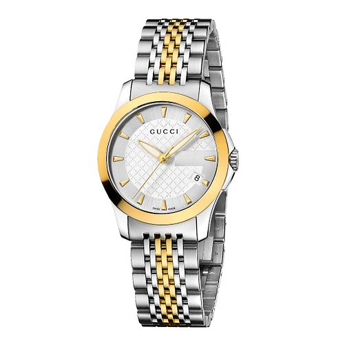 Gucci G-Timeless Two Tone Bracelet Watch - Product number 8946566