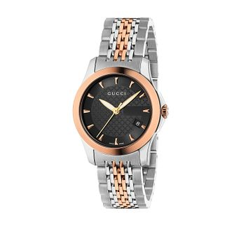 Gucci G-Timeless Two Tone Bracelet Watch - Product number 8946574