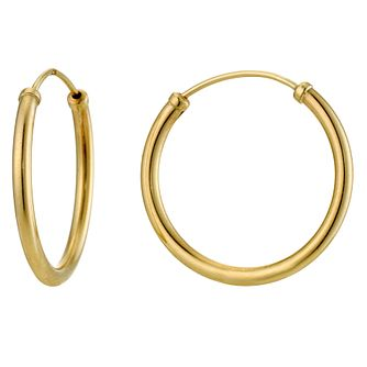 9ct Yellow Gold 15mm Sleeper Earring - Product number 8959749