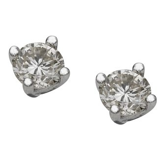 Platinum 1 Carat Diamond Earrings - Product number 8960127