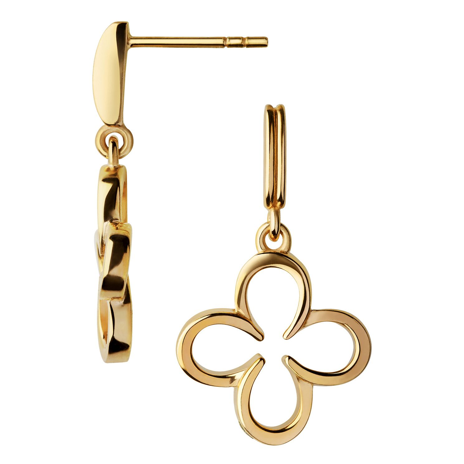 Links Of London Ascot Gold Vermeil Clover Earrings - Product number 8974535