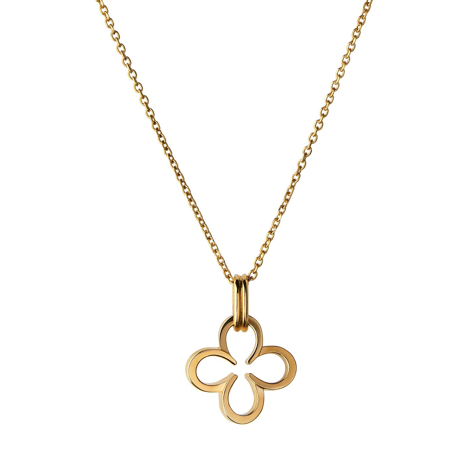 Links Of London Ascot Ladies' Gold Vermeil Clover Pendant - Product number 8974799