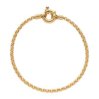Links of London Yellow Gold Vermeil Belcher Bracelet - Product number 8974969