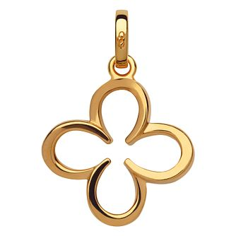 Links Of London Ascot Gold Vermeil Clover Charm - Product number 8975477