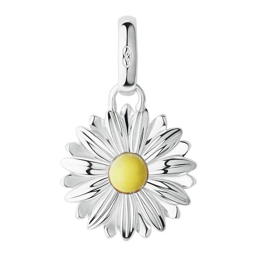 Links Of London Silver & Yellow Gold Vermeil Daisy Charm - Product number 8975485