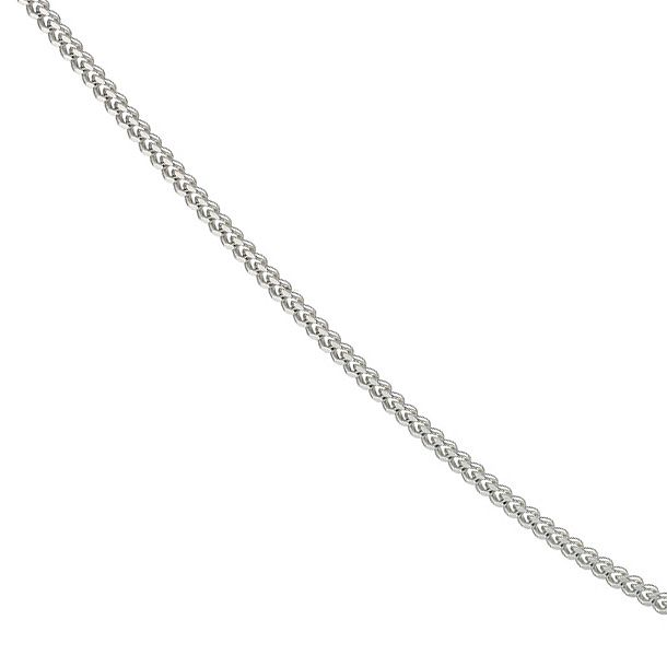 Silver 18 inches Curb Chain - Product number 9001492