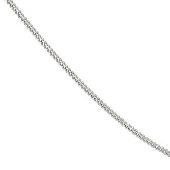 Sterling Silver 18 Inch Curb Chain - Product number 9001492