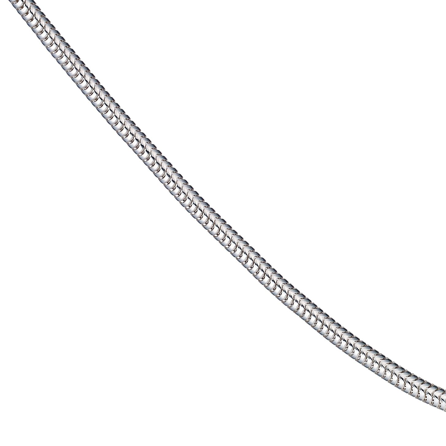 Sterling Silver 18 Inch Snake Chain - Product number 9001638