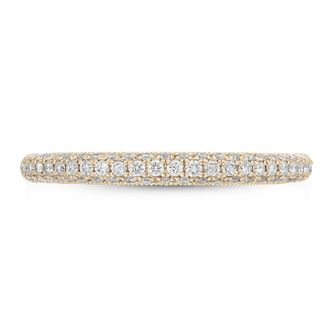 Neil Lane 14ct Yellow Gold 0.37ct Diamond Wedding Band - Product number 9011420