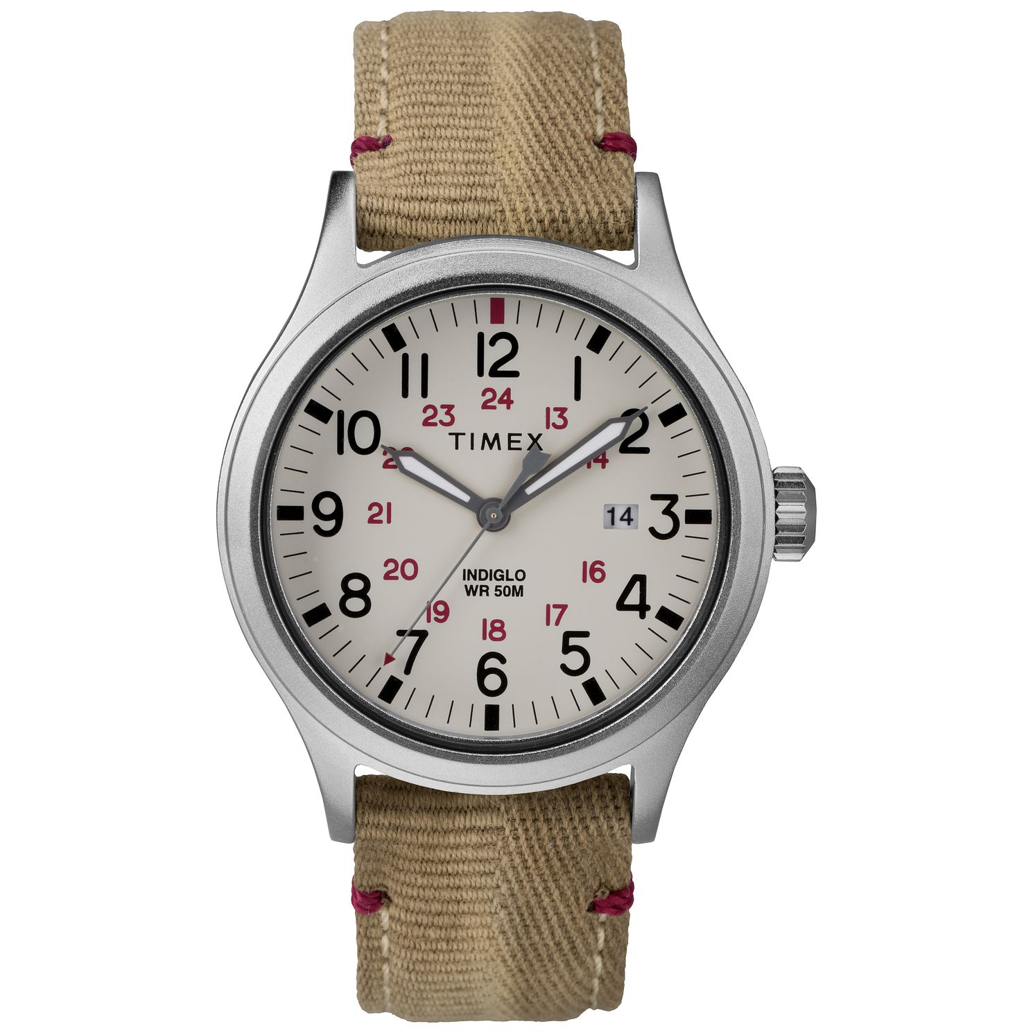 Timex Allied Men's Light Brown Strap Watch - Product number 9017151