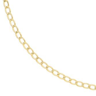 9ct Yellow Gold Men's20 inches Curb Chain - Product number 9018492