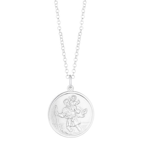 Silver St.Christopher's Pendant - Product number 9021256