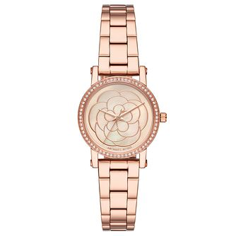 Michael Kors Petite Norie Ladies' Rose Gold Tone Watch - Product number 9040587