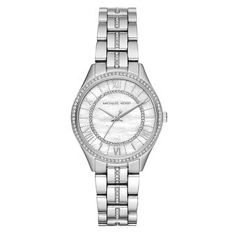 Michael Kors Mini Lauryn Ladies' Stone Set Bracelet Watch - Product number 9040854