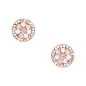 Fossil Vintglitz Rose Gold Tone Earrings - Product number 9041087