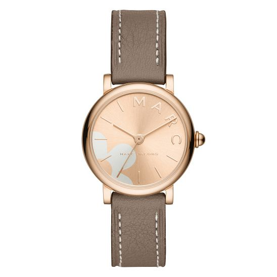 Marc Jacobs Daisy Ladies' Rose Gold Tone Brown Strap Watch - Product number 9047395