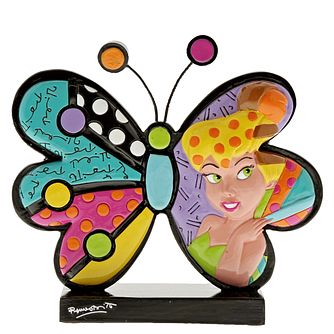 Disney Britto Tinker Bell Butterfly Icon Figurine - Product number 9047689
