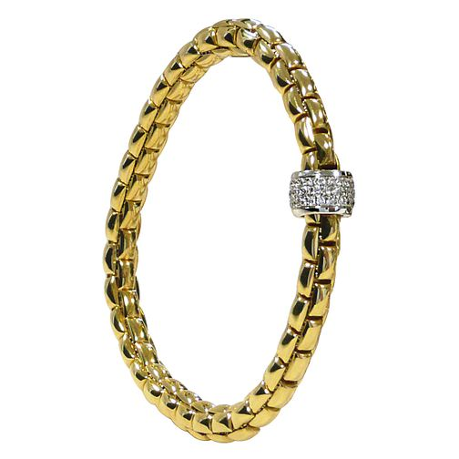 Fope Eka Flex 'It 18ct yellow gold bracelet - Product number 9092293