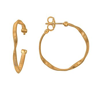 Marco Bicego 18ct yellow gold hoop earrings - Product number 9096159