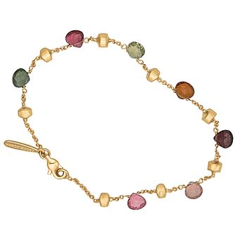 Marco Bicego 18ct Yellow Gold Multi Stone Bracelet - Product number 9096175