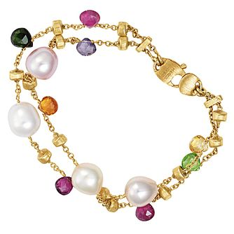 Marco Bicego  Paradise 18ct yellow gold beaded bracelet - Product number 9096280