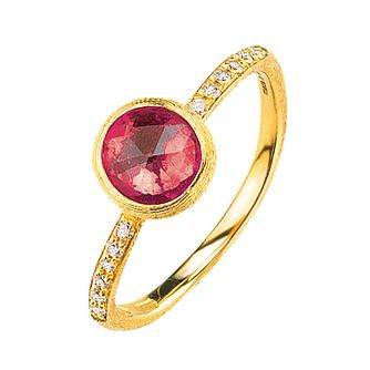 Marco Bicego 18ct yellow gold multi-stone ring - Product number 9097376