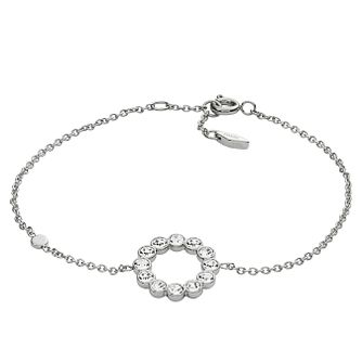 Fossil Ladies' Silver Glitz Bracelet - Product number 9103392