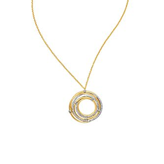 Marco Bicego 18ct yellow gold diamond pendant - Product number 9113835