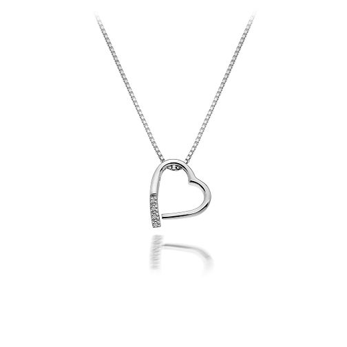 Hot Diamonds Open Heart Angle Pendant - Product number 9126104