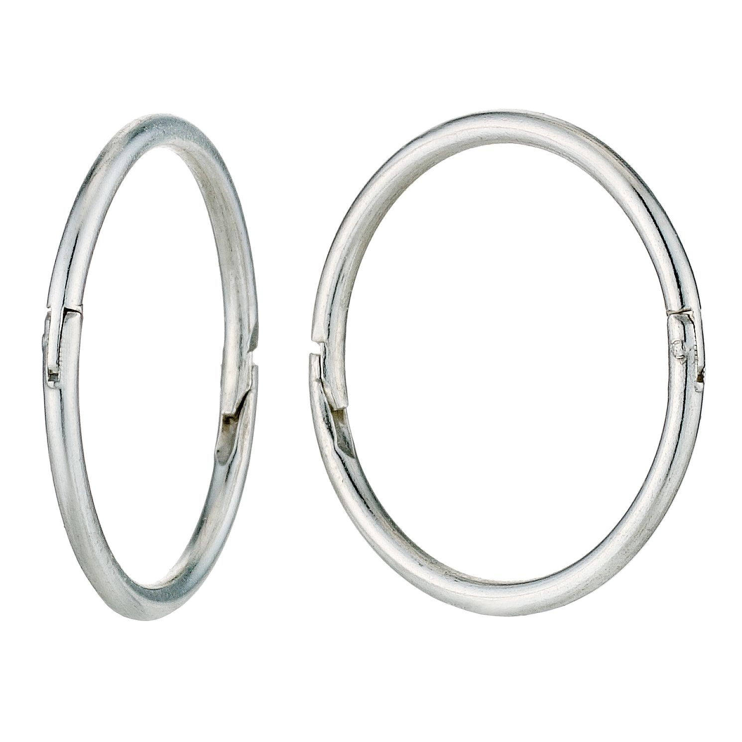 Sterling Silver 12mm Sleeper Earrings - Product number 9172009