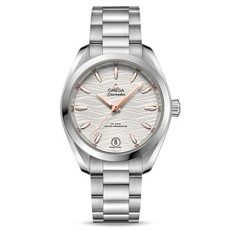 Omega Seamaster Aqua Terra Ladies Steel Bracelet Watch - Product number 9176462