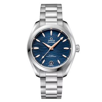Omega Seamaster Aqua Terra Ladies Steel Bracelet Watch - Product number 9176470