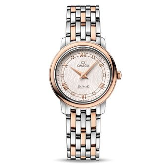 Omega De Ville Prestige Ladies' Two Colour Bracelet Watch - Product number 9176551