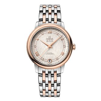 Omega De Ville Ladies Two Colour Diamond Bracelet Watch - Product number 9176578