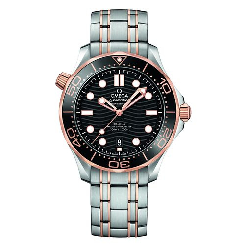 Omega Seamaster Diver Men's Stainless Steel Bracelet Watch - Product number 9176853