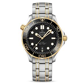 Omega Seamaster Diver Men's Stainless Steel Bracelet Watch - Product number 9176969