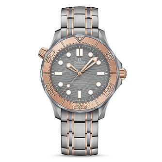 Omega Seamaster Diver Men's Stainless Steel Bracelet Watch - Product number 9178139