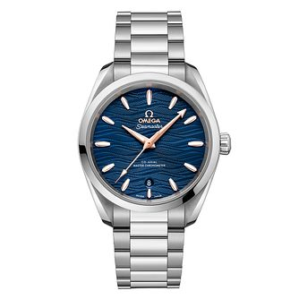 Omega Seamaster Aqua Terra Stainless Steel Bracelet Watch - Product number 9178325