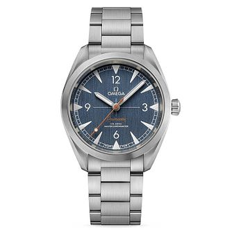 Omega Railmaster Men's Stainless Steel Bracelet Watch - Product number 9178333