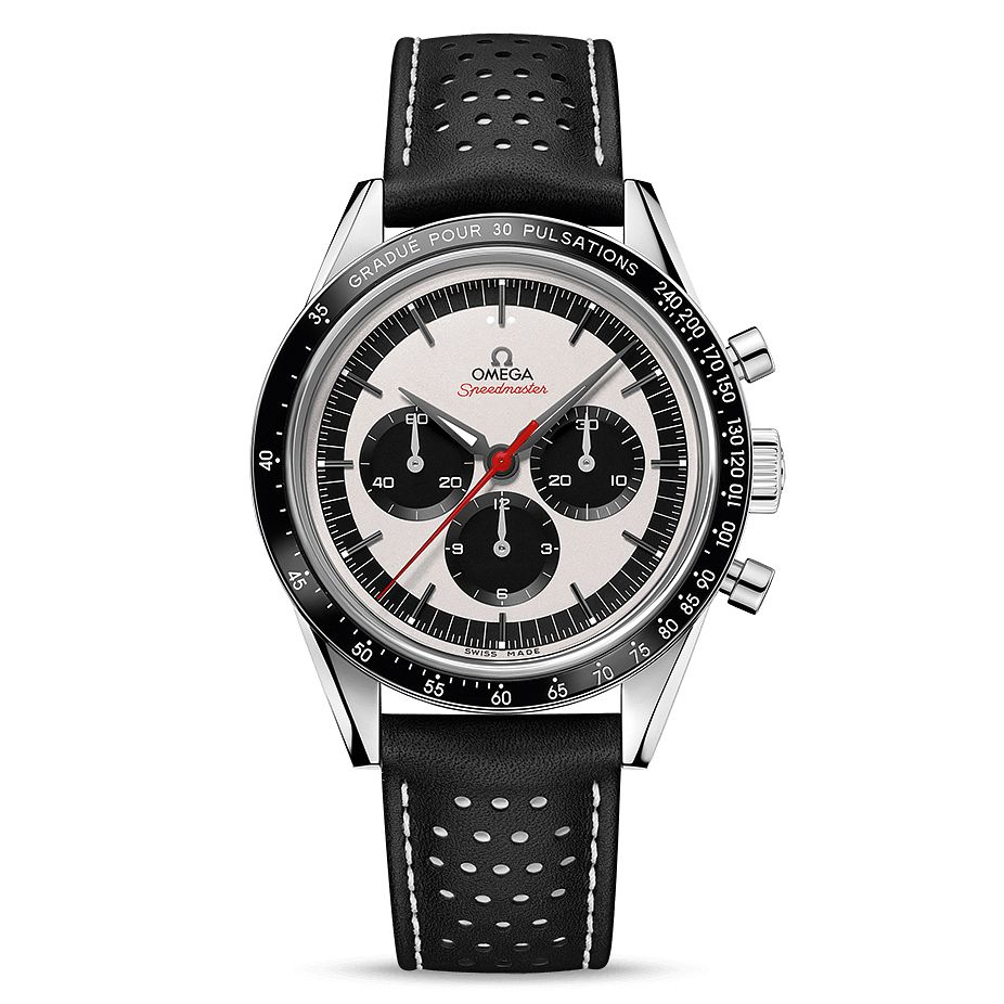 Omega Limited Edition Speedmaster Men's Black Strap Watch - Product number 9178570
