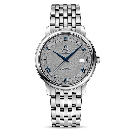Omega De Ville Men's Stainless Steel Bracelet Watch - Product number 9178600