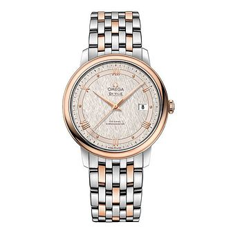 Omega De Ville Men's Two Colour Bracelet Watch - Product number 9178619