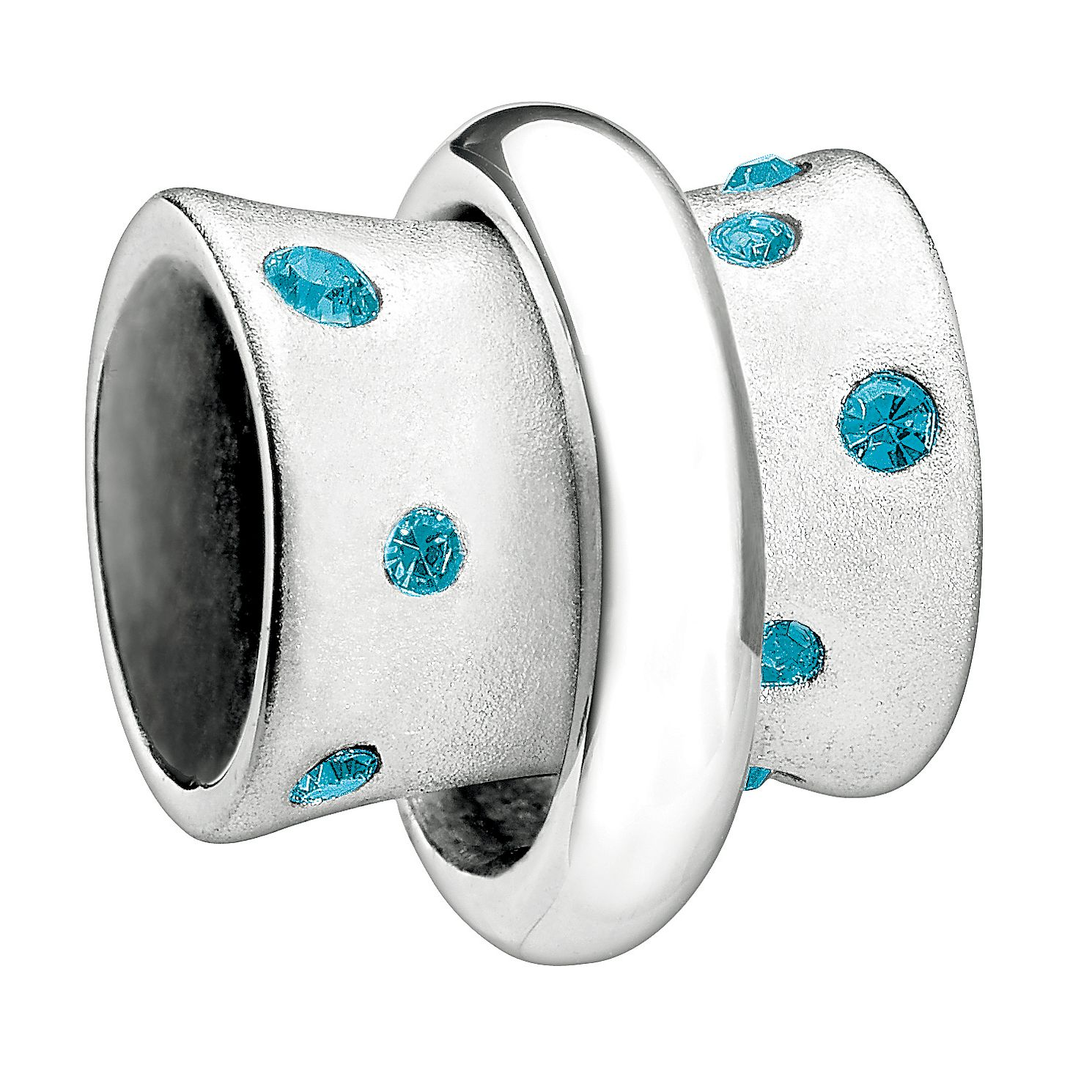 Chamilia - sterling silver Stella Swarovski stone bead - Product number 9186743