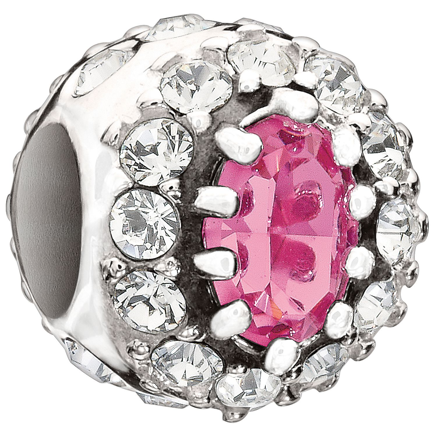 Chamilia - sterling silver Pink Royal bead - Product number 9186905